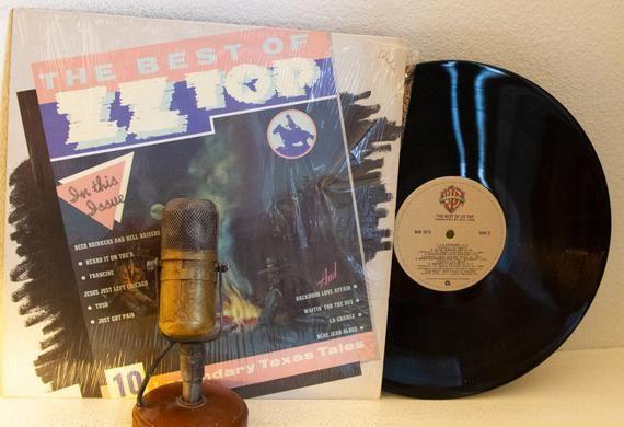 Zz Top Vinyl The Best Of 1970s Texas Blues Rock 1979 Scarce Columbia House Record Club W Tush Vinyl