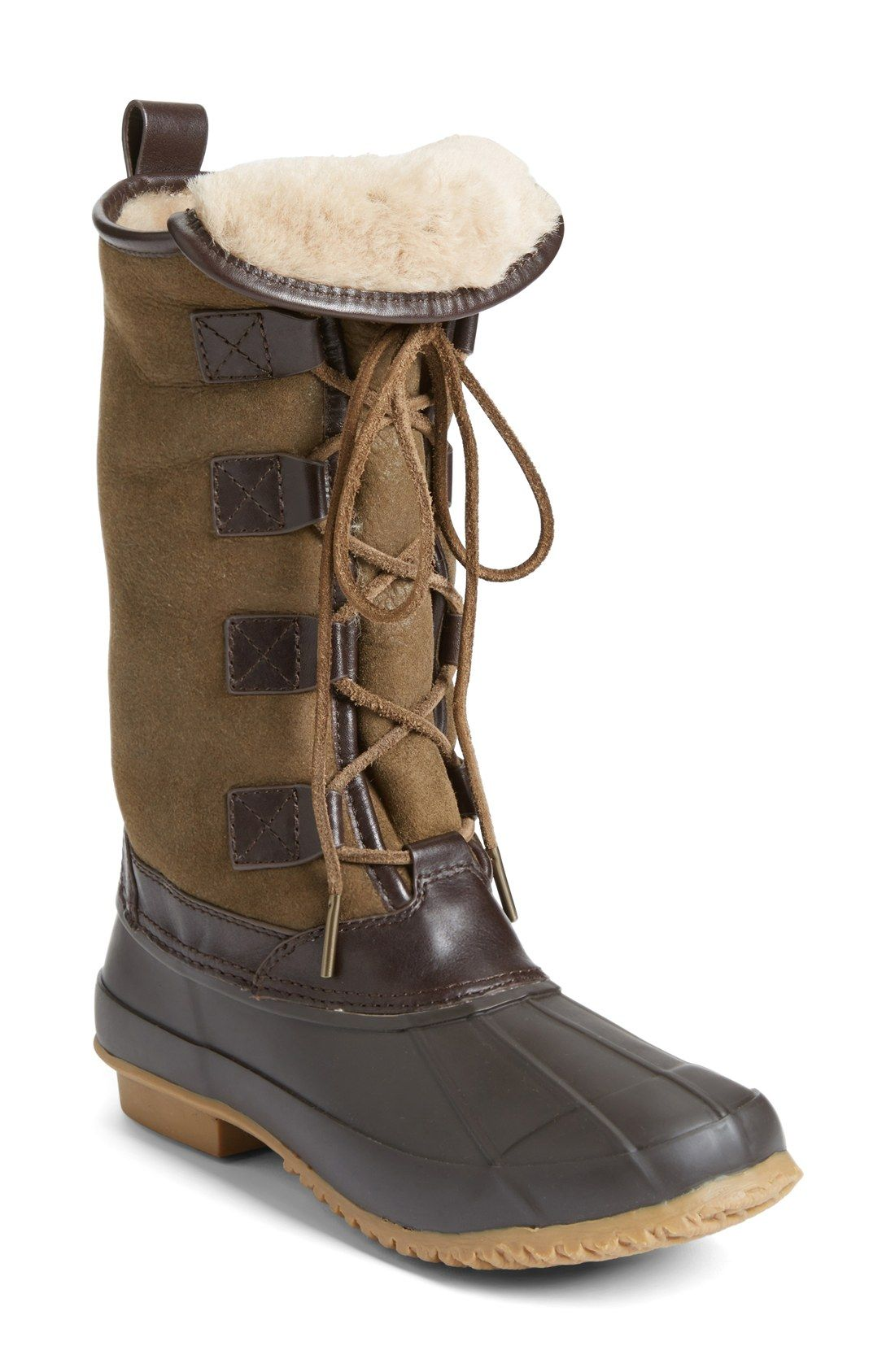 e21bfff0616 Loving this classic winter boot with a luxe twist by Tory Burch. These  adorable boots are made to keep the toes warm while a sturdy rubber toe  allows for ...
