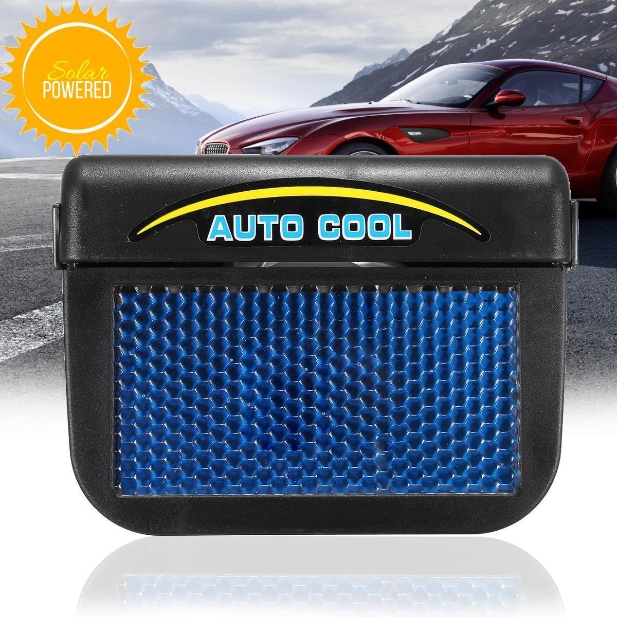 autocool solar car window fan auto ventilator cooler air vent fan rh pinterest com