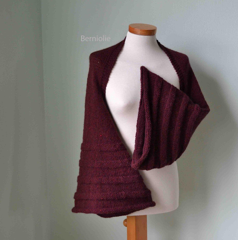CHARLIE, Knitting shrug pattern, PDF. $4.99, via Etsy. | Knitting ...