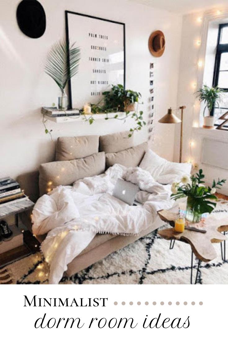 Comfortable Minimalist Dorm Room Ideas Apartment Living Room Bedroom Interior College Apartment Decor