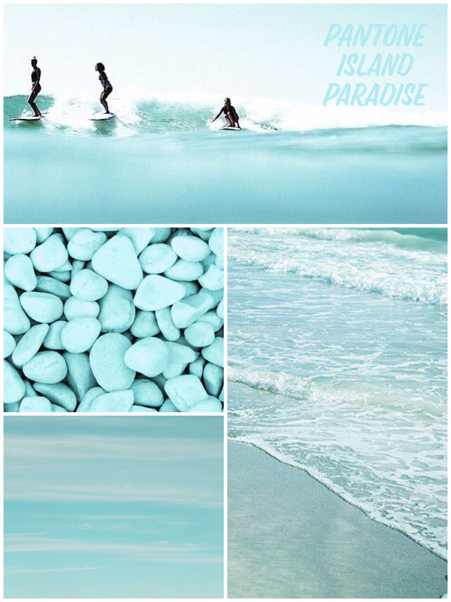 PANTONE Island Paradise | ~ Home Style ~ | Aqua color ...