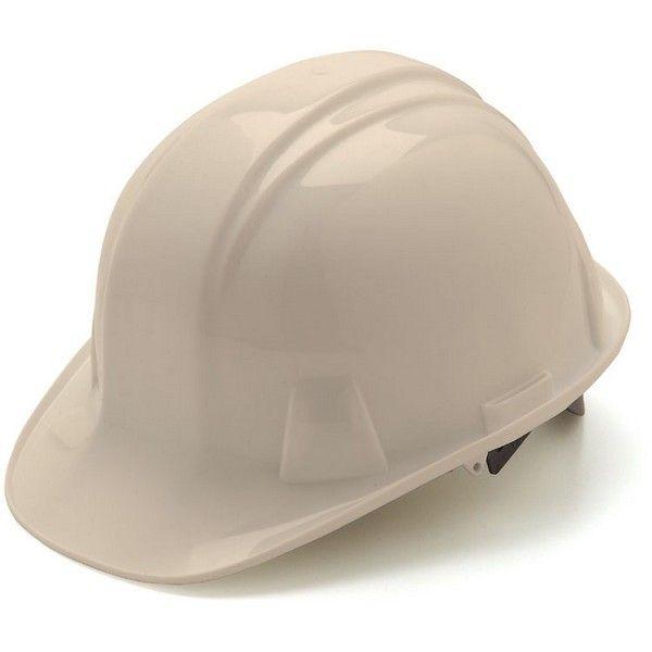 Pyramex Hp14010 Hard Hat 4 Point Snap Lock Suspension White Hats Snap Lock Hard Hat