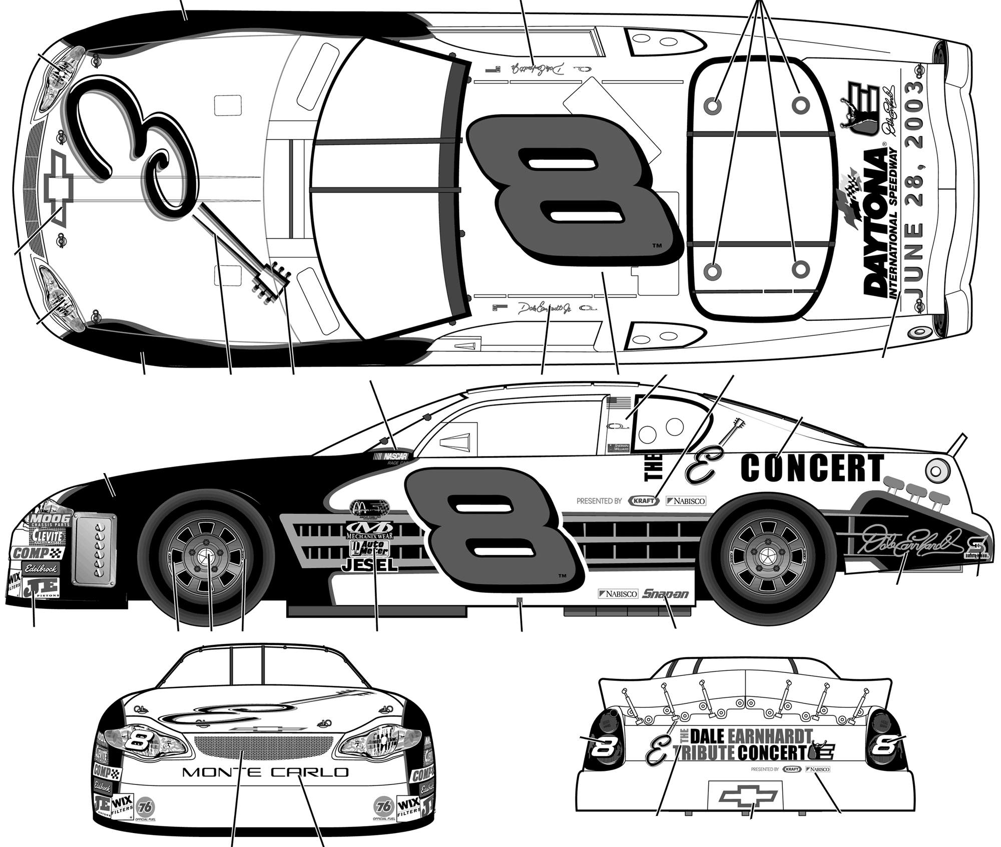 The newest nascar blueprint car pictures car canyon nascar the newest nascar blueprint car pictures car canyon malvernweather Images