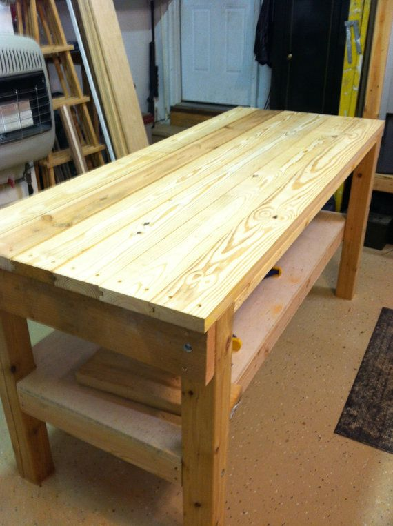 6 Foot Heavy Duty Work Bench On Etsy 950 00 Home