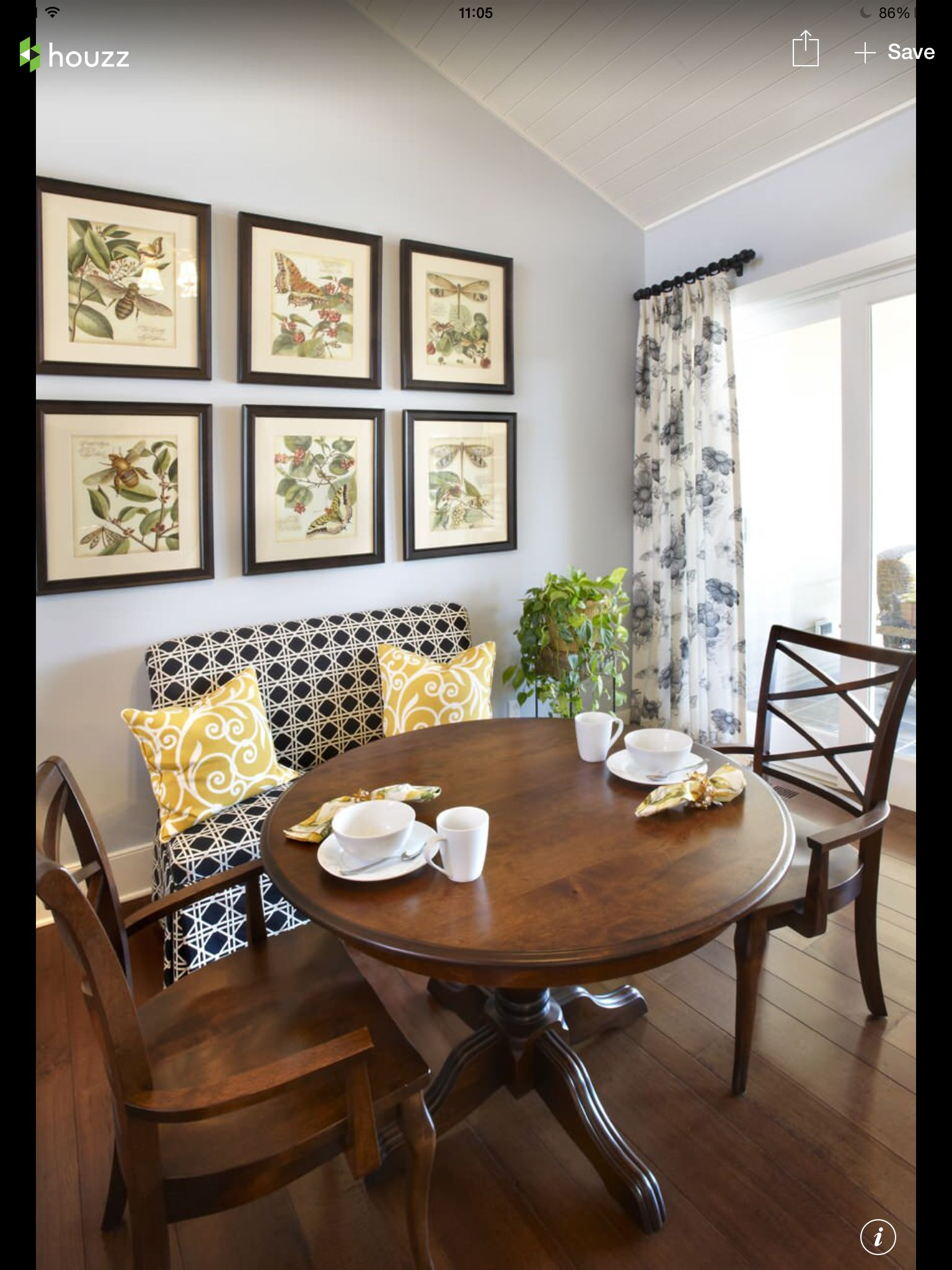 love this kitchen nook in 2019 settee dining dining room walls rh pinterest com