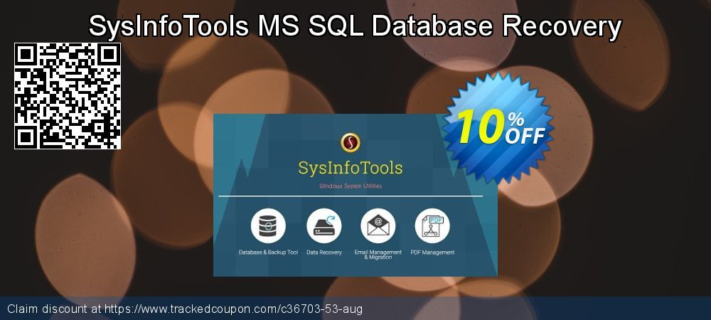 10 Off Sysinfotools Ms Sql Database Recovery Promo Coupon Code