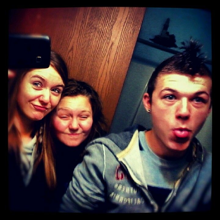 Goofin off after thanksgiving with dode and brock