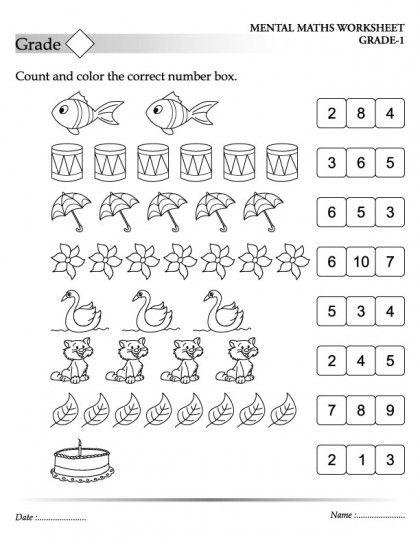 Matematika 5 Go Klassa Rabochie Listy Po Matematike Dlya Detej Kids Math Worksheets Kindergarten Math Worksheets Counting Preschool Math Worksheets Mathematics worksheet for years old
