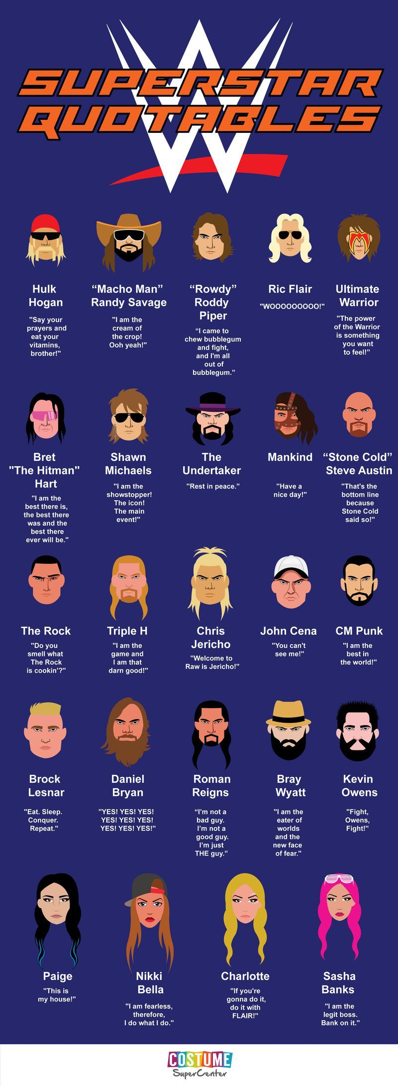 3 decades of WWE catchphrases in one self-aggrandizing infographic · Great Job, Internet! · The A.V. Club