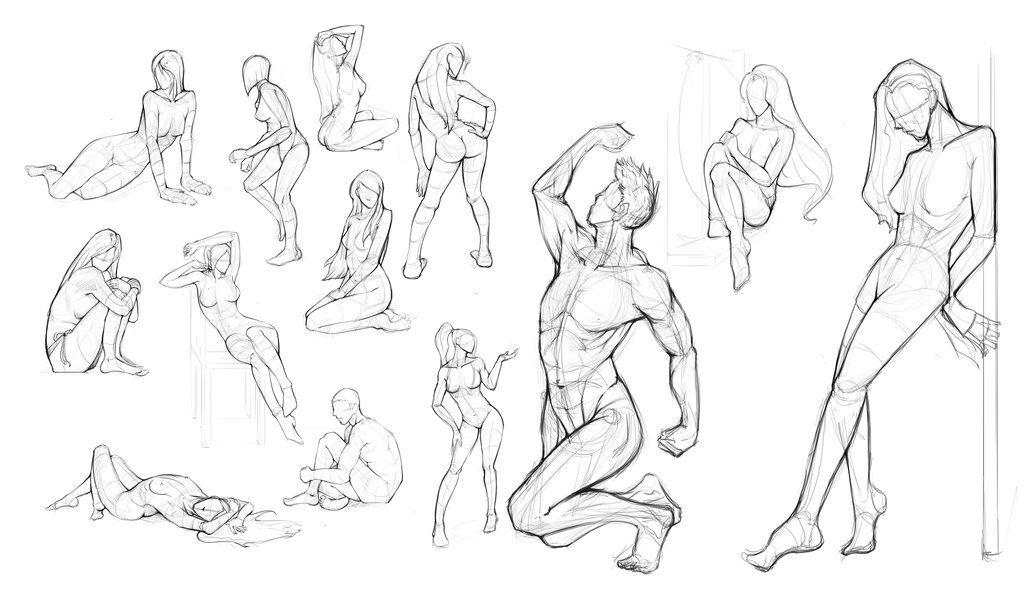 Anatomy Practice By Keshanlam Art Pinterest Anatomy And
