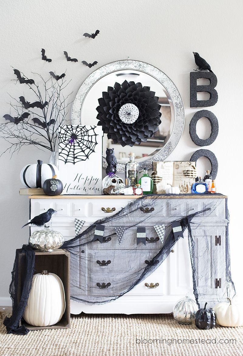Halloween Home Tour Pinterest Halloween parties, Hocus pocus and - Elegant Halloween Decor
