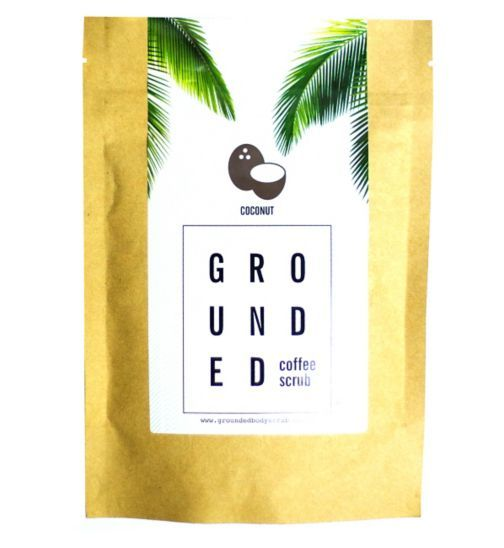 Grounded Body Scrub Coconut Scent Coffee Scrub - Boots | £15