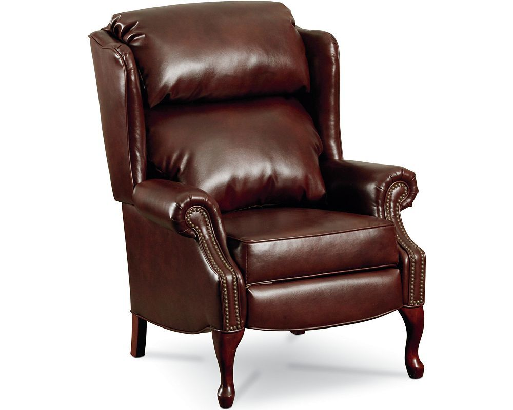 savannah high leg recliner nailhead trim gut the living room rh pinterest com