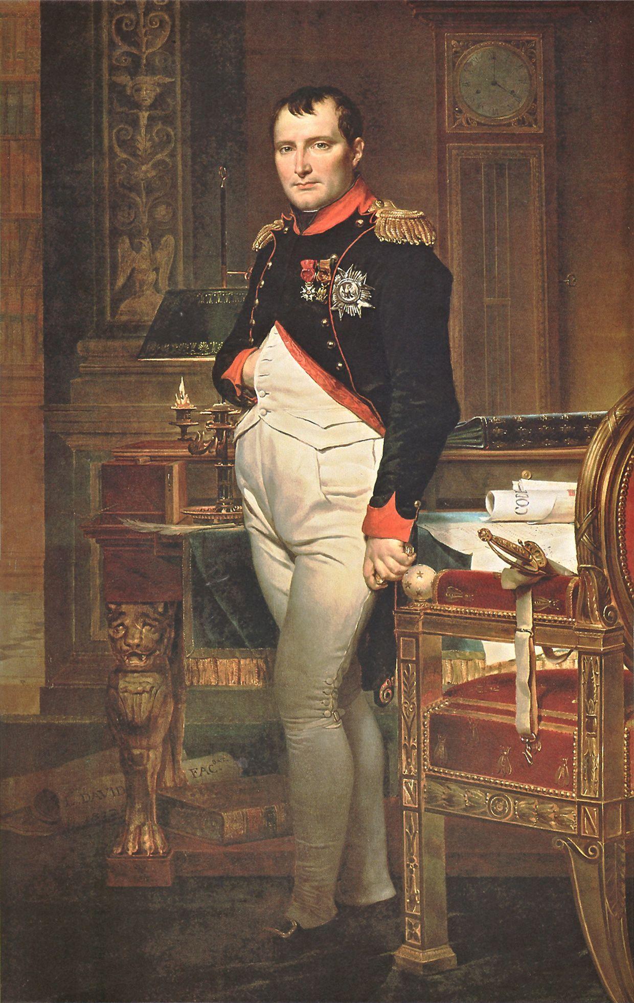 Biography of Jacques Louis David