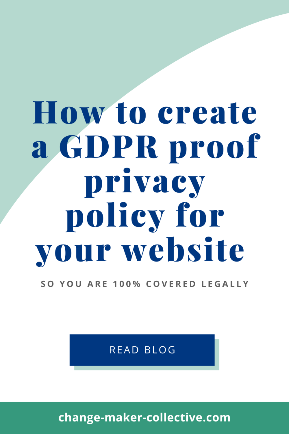 Privacy Policy Generator How To Create A Gdpr Proof Privacy Policy 2020