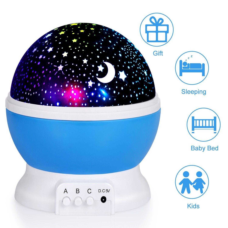 Night Light For Children Sendis Baby Star Projector Kids Rotating Co Uk Lighting