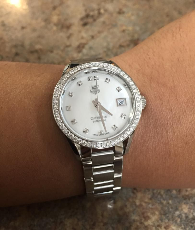 Ladies You Don T Want To Miss This The 28mm Tag Heuer