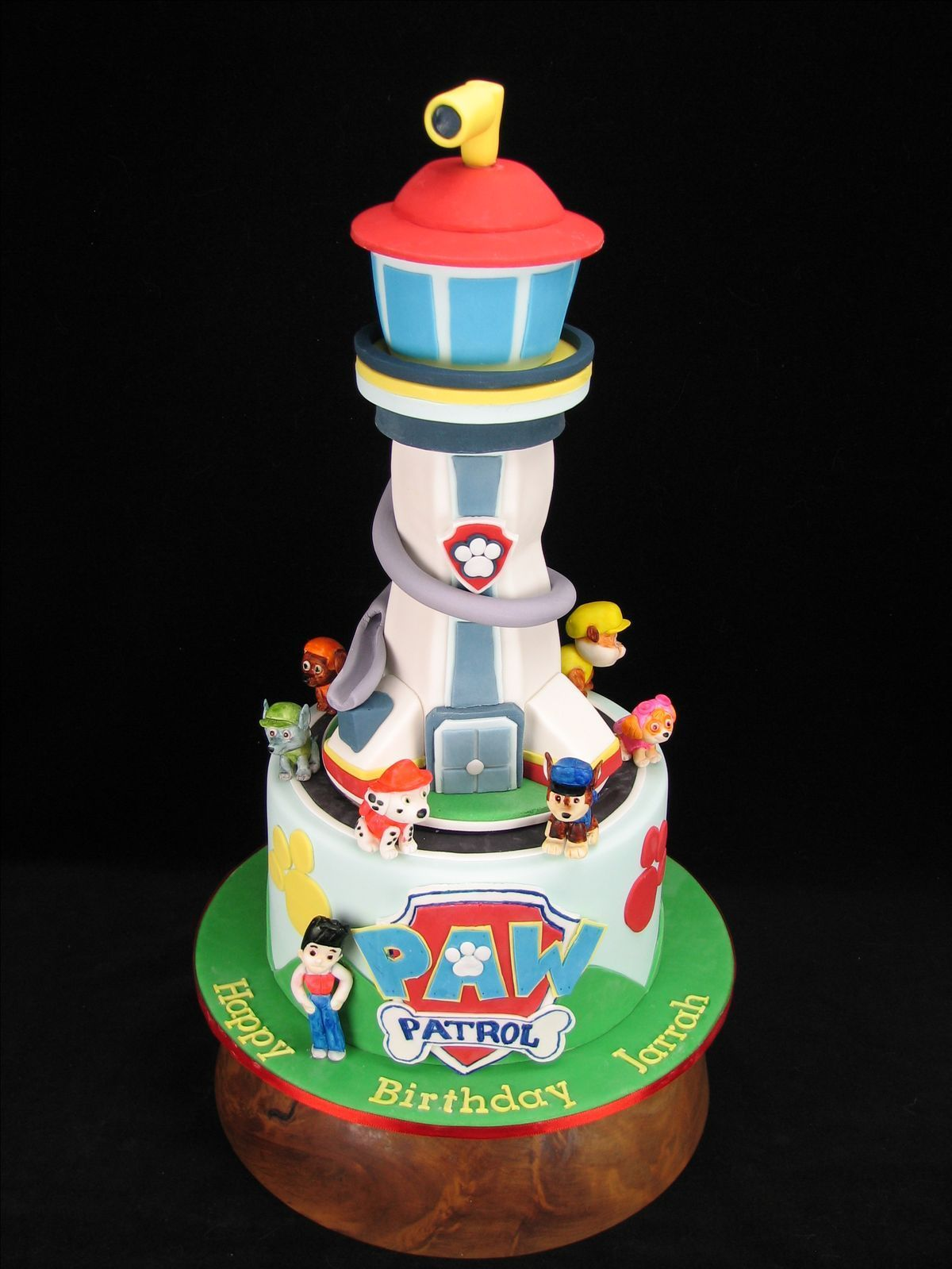 Image result for paw patrol lookout tower cake torta
