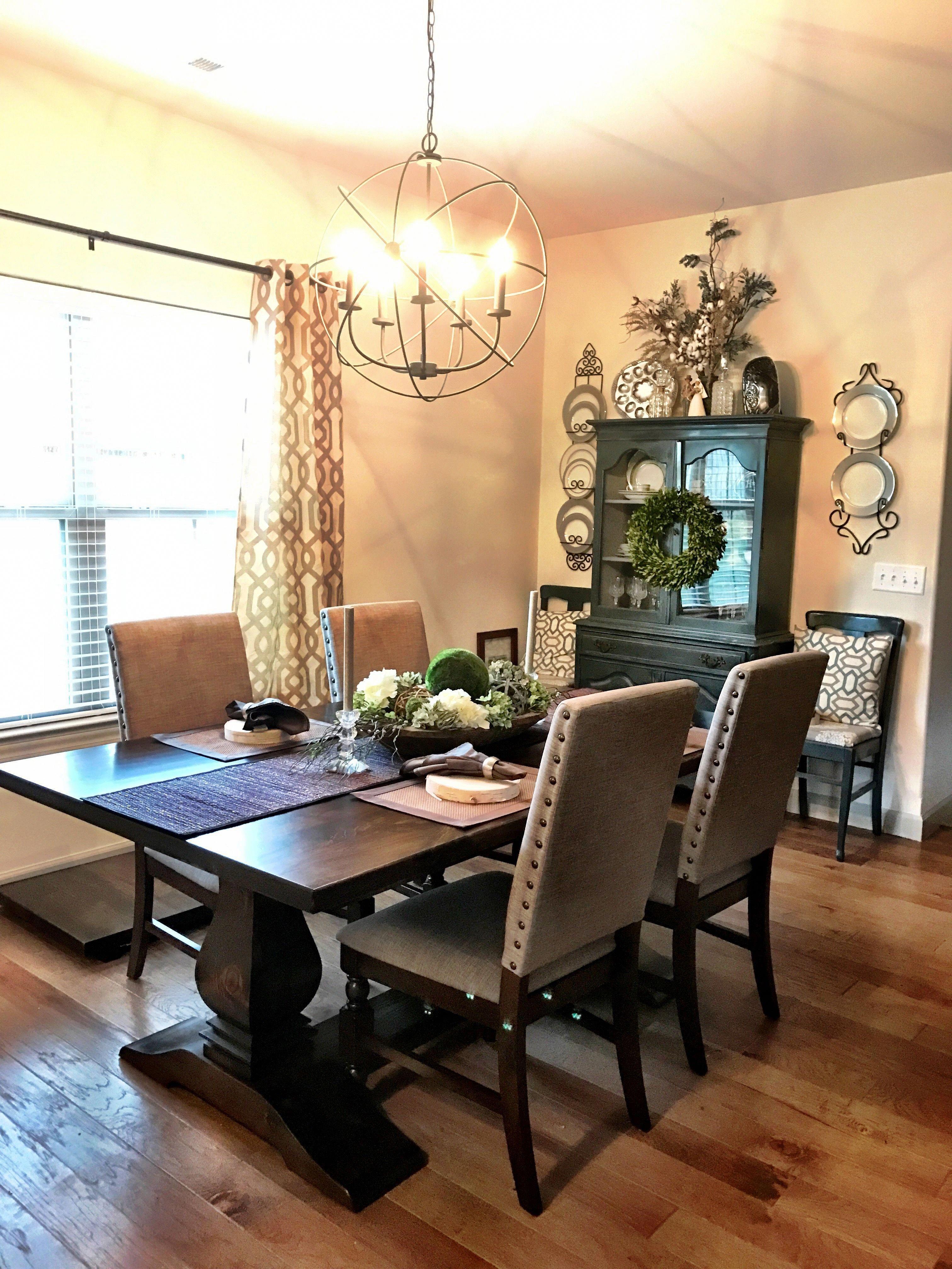 christmas decorating ideas for dining room buffet rh hu pinterest com