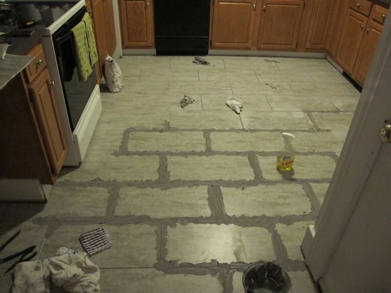 How To Install Groutable Vinyl Tile ...