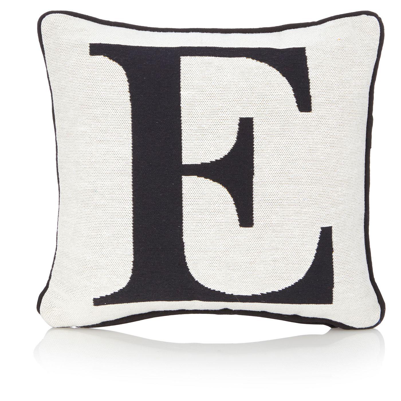 george home letter e cushion view all living room asda direct rh za pinterest com