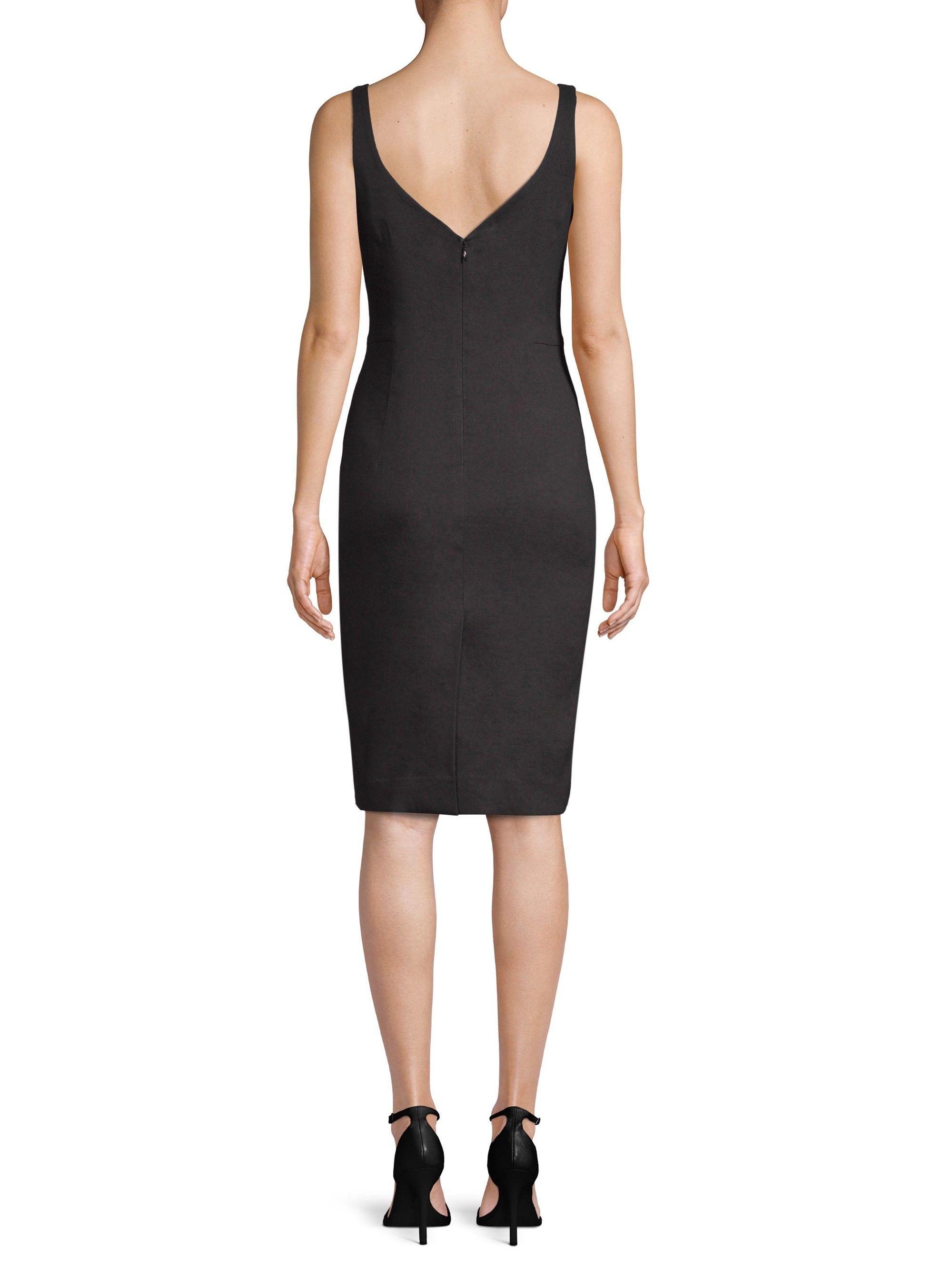 05097164 Milly Elizabeth Linen Dress - Black 10 Linen Dresses, Sheath Dress, Dress  Black,