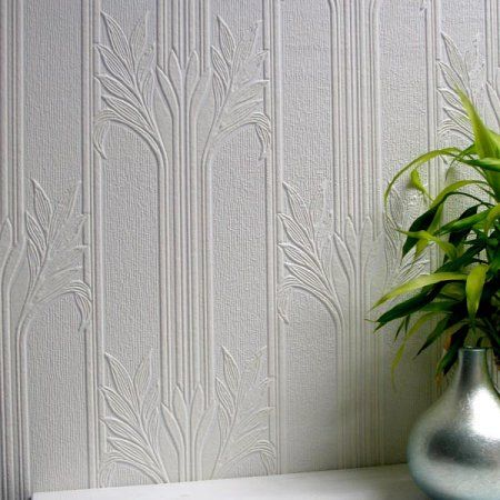 Brewster Wildacre Paintable Textured Vinyl Wallpaper