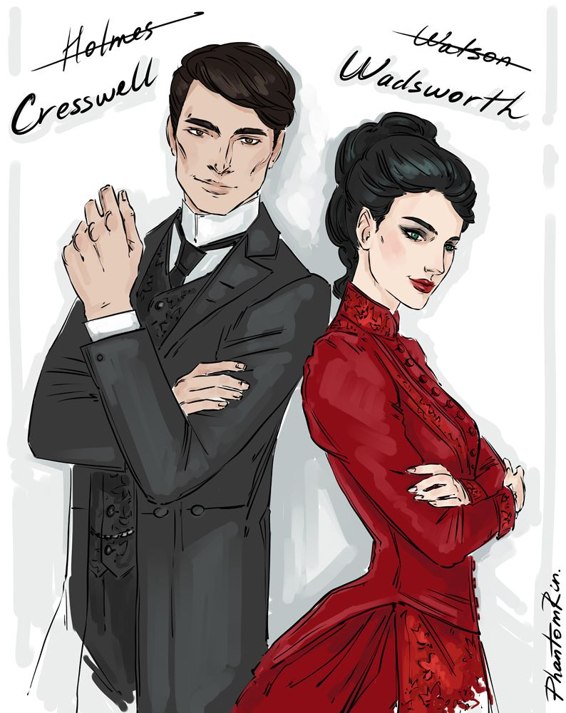 Thomas Cresswell & Audrey Rose Wadsworth | Fan book, Jack ripper, Audrey  rose