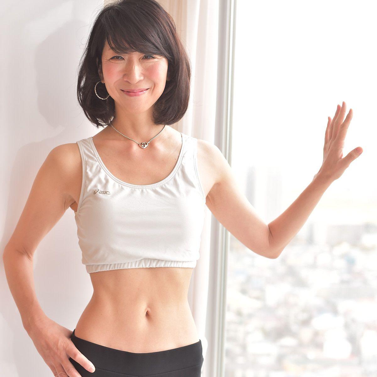 50代にして驚異のウエスト58cmをキープ 健康運動指導士 植森美緒さんのダイエットメソッド マキアオンライン Maquia Online 健康 運動 健康 ダイエット