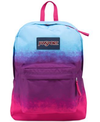 timeless design 447d9 fac2c Jansport Superbreak Backpack, Purple Night Ombre