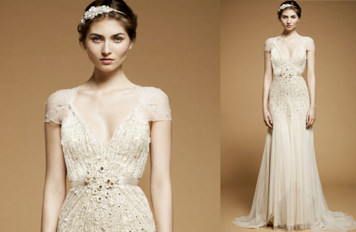 Cap Sleeved Wedding Dresses, 2012