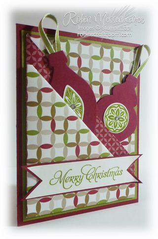 Another QUICK Diagonal Double Pocket Card! | RobinsCraftRoom.com | Bloglovin'