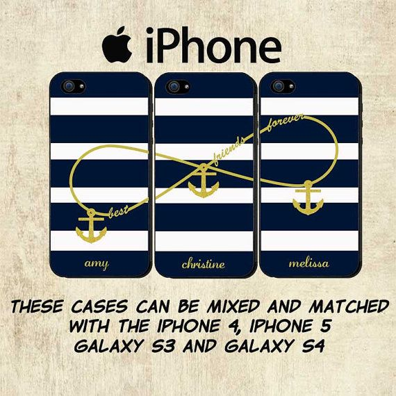 finest selection 54e5e 0d2c8 Best Friends iPhone Case Personalized iPhone 5 by mylittlecase ...