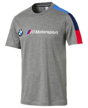ee67b2f28ff Puma Men's Bmw Logo T-Shirt - Gray XXL | Products in 2019 | Puma ...
