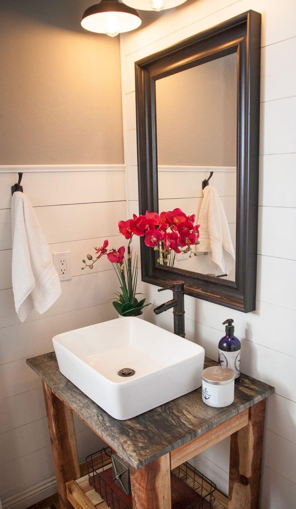 bathroom small space design%0A    Incredible Tiny House Bathroom Designs