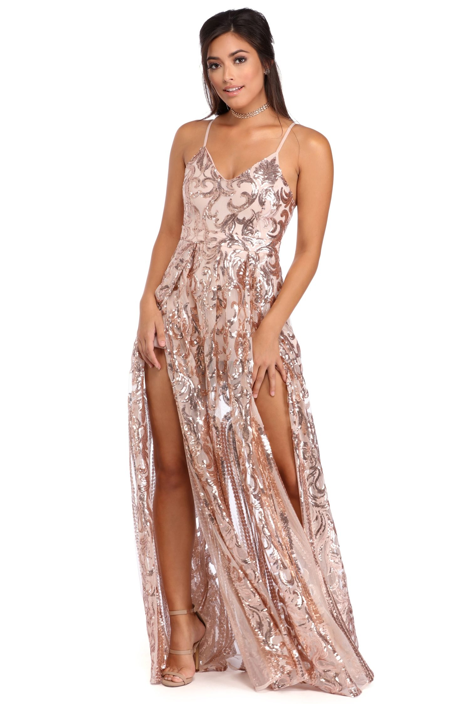 b9bd2fbb9ad Grace Rose Gold Princess Dress in 2019