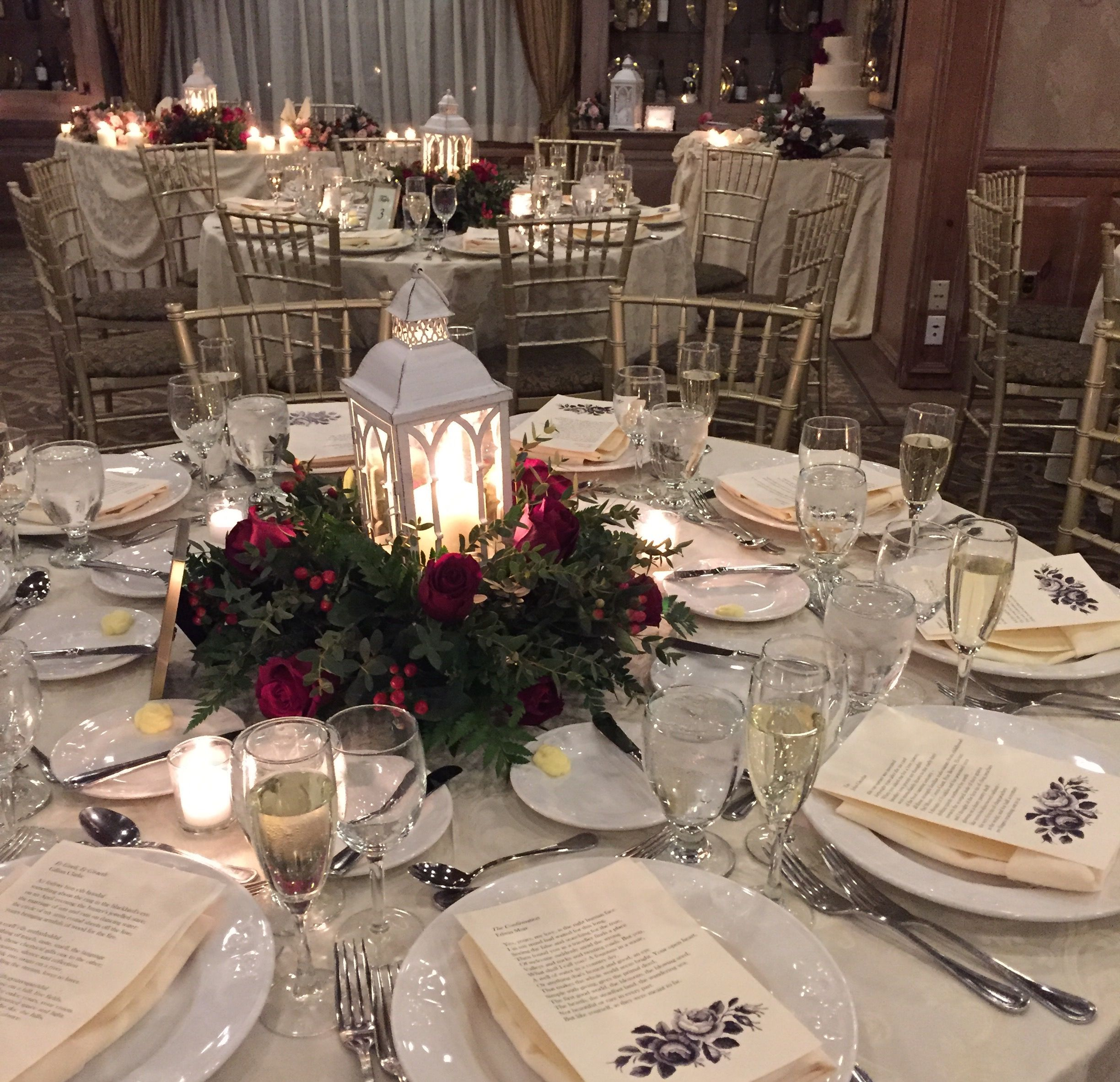 Beautiful Lanterns By Jm Home And Garden For A February Wedding In