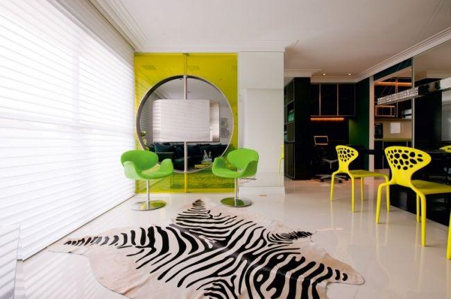 Raumgestaltung Mit Farbe Wohnung Brunete Fraccaroli | Raumgestaltung Mit Farbe Stylishe Wohnung Von Brunete Fraccaroli