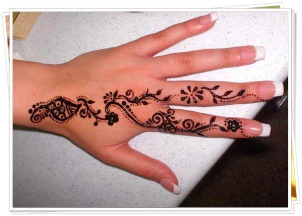 finger tattoo 2