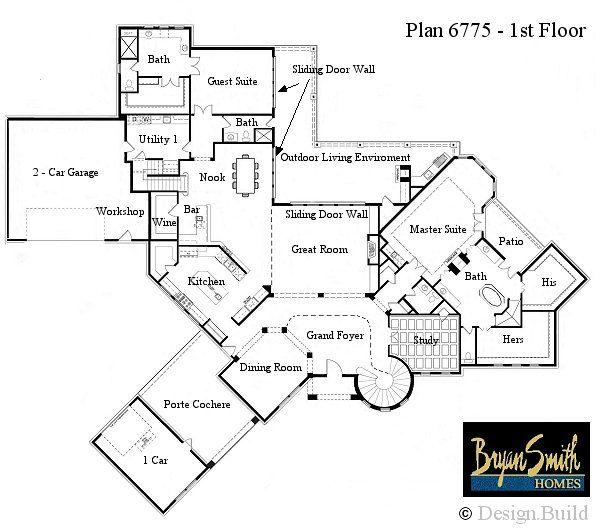 Plan 6775 New House Pinterest Colorado Mountains Mountains. Extraordinary Million  Dollar House Floor Plans ...