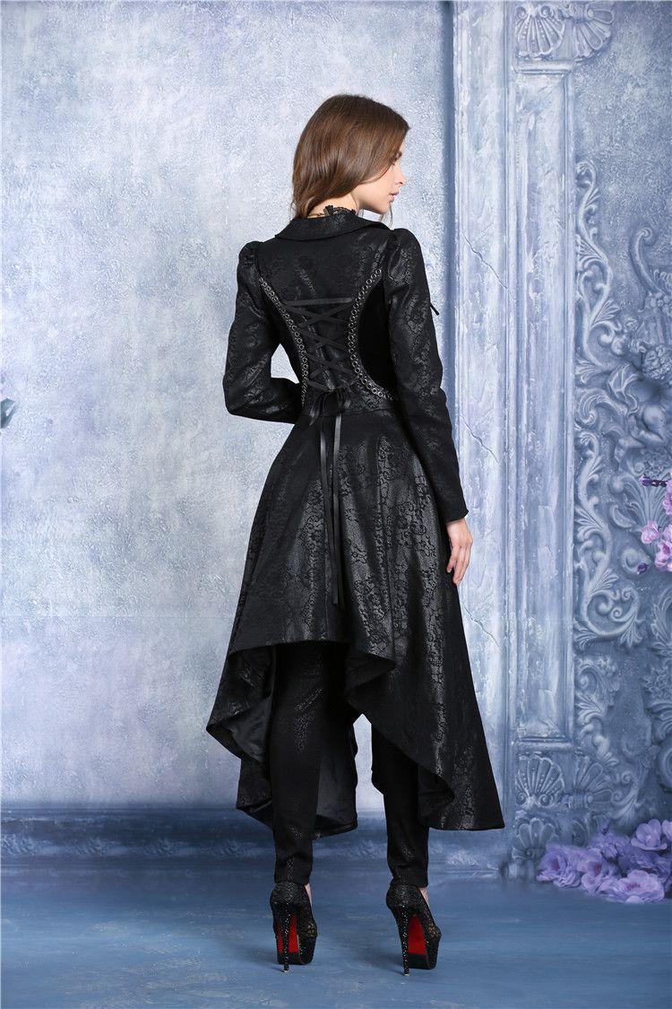 photo n°1   Redingote gothique femme  empress of the shadows ... d93b9189abe