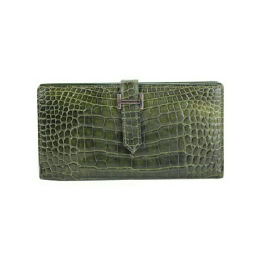 Hermscrocodile Bearn H Wallet 99ht30. Hermscrocodile Bearn H Wallet 99ht30 Hermes  Bags ... 2f6b159710438