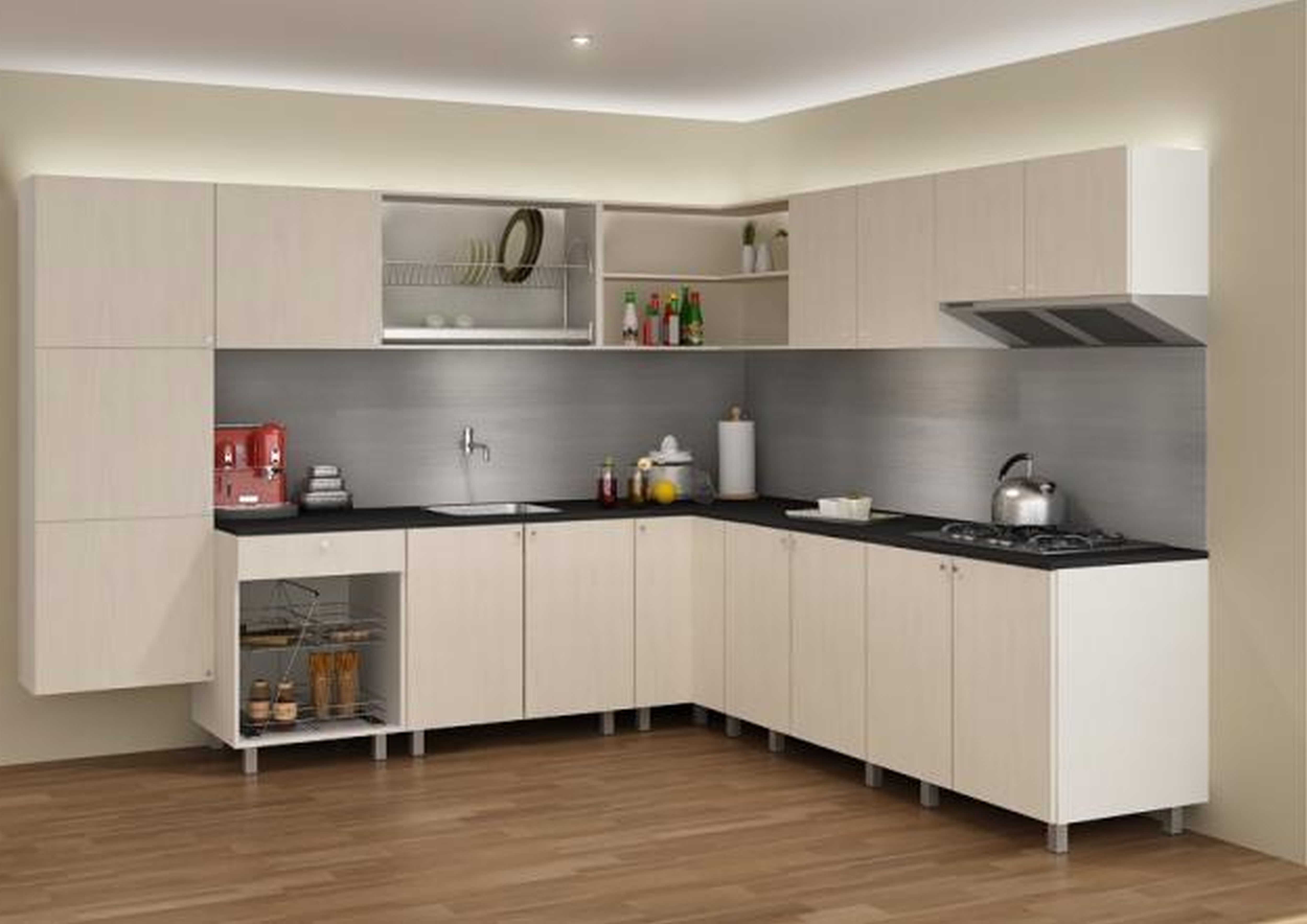 Cheap Kitchen Furniture With White Colors Desain Rumah Desain Rumah