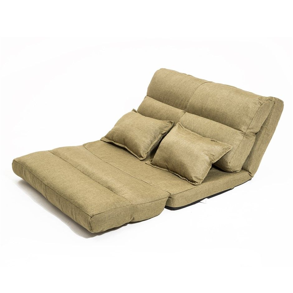 Best Lounge Sofa Fabric Double Bed Pisces Khaki Fabric Sofa 400 x 300