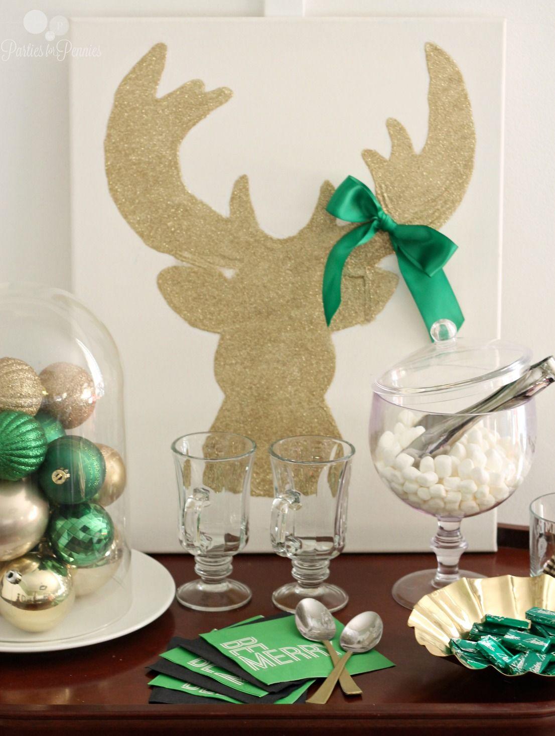 10 Budget Friendly Christmas Entertaining Ideas - Parties for Pennies | Christmas entertaining ...