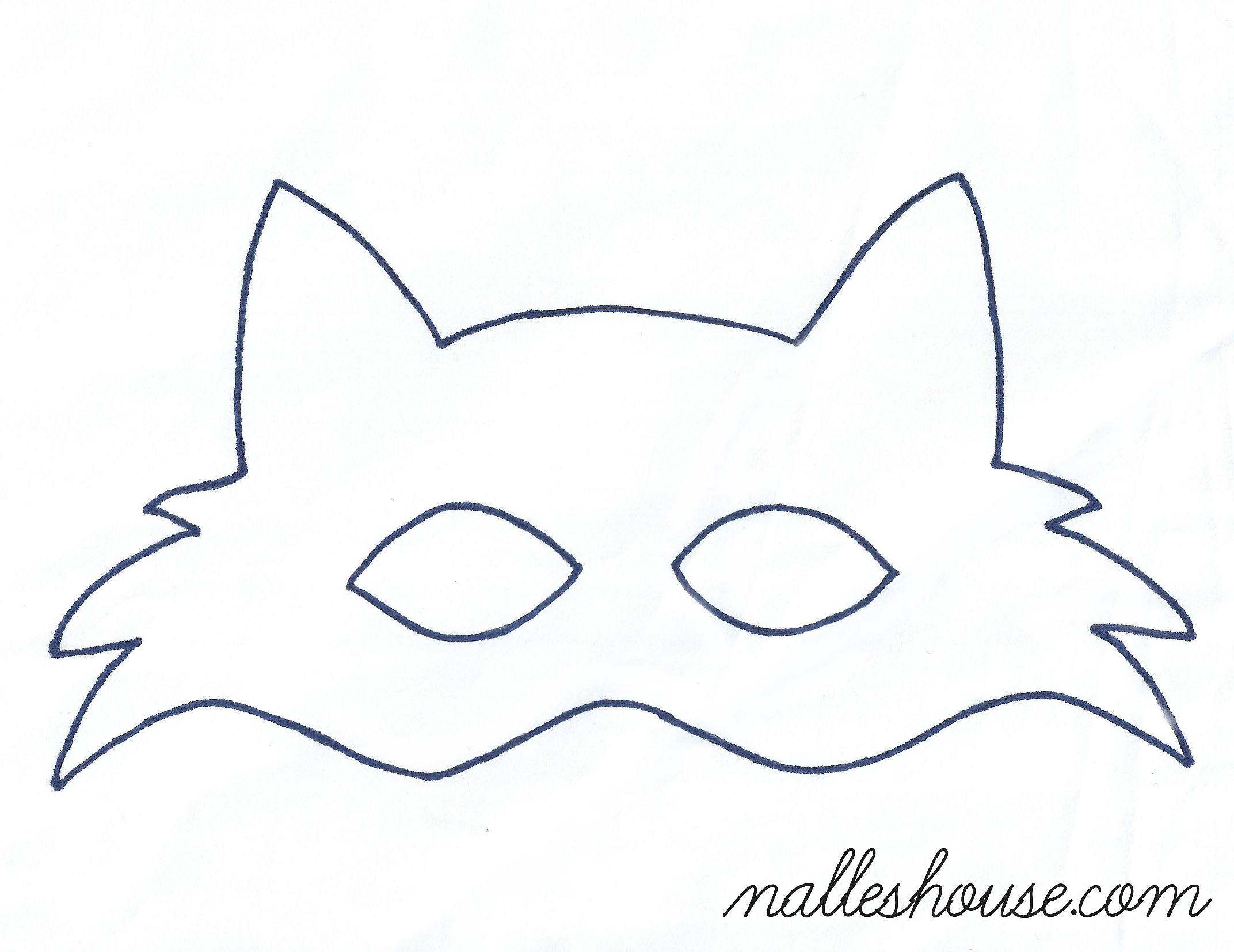 Fox mask template dzieci zabawki pinterest mask for Template of a fox