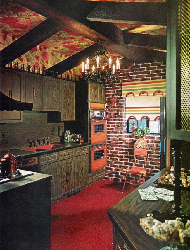 Those Fabulous and Frightening 1970s Kitchens   Die Hütte ...