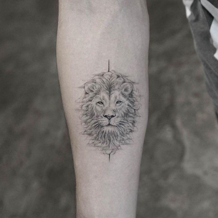 Tattoo Lion Head – #Lion #tattoo
