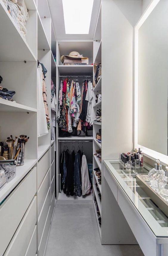 Giyinme Odası ve Gardırop Dekorasyon Fikirleri 2020 - Kadınlara özel blog
